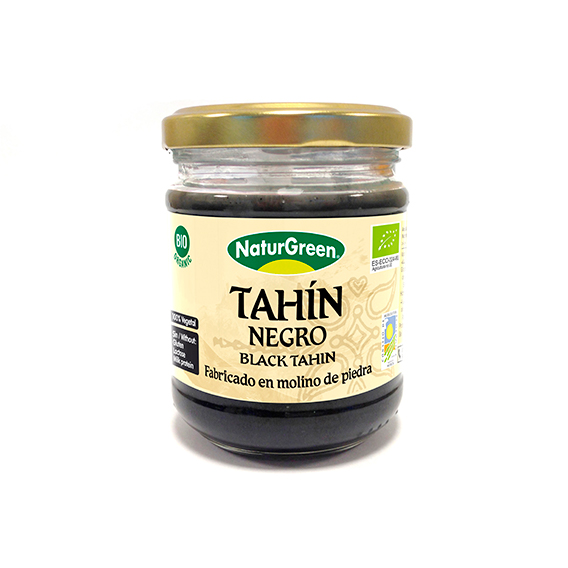 TAHIN NEGRO NATURGREEN 180GR