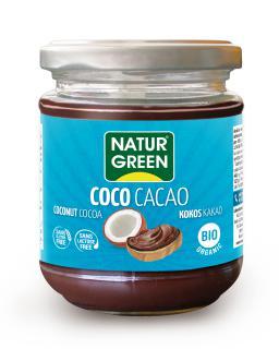 CREMA DE COCO CACAO NATURGREEN 200GR